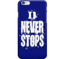 Duke Never Stops iPhone Case/Skin