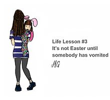Life Lesson #3 by Melissa Gaggiano