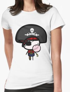 Yarrg, Pirates Can Blow Bubbles Too! Womens Fitted T-Shirt