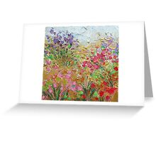 Floral Fields No. 2 Greeting Card