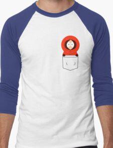 Pocket Kenny Men's Baseball ¾ T-Shirt