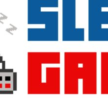 Eat. Sleep. Game. Repeat. Sticker