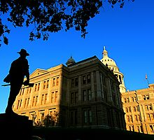 Texas State Capitol Building - Sundown by Jeff Blanchard