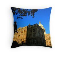 Texas State Capitol Building - Sundown Throw Pillow