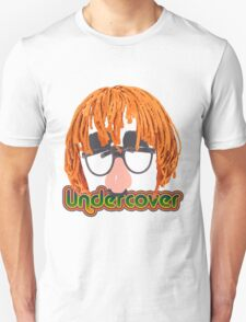 Funny Undercover Disguise Design T-Shirt