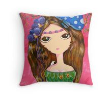 The Forest Guardian Throw Pillow