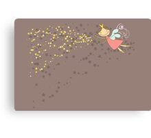 Whimsical Magic Fairy Princess Sprinkles Canvas Print