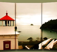 Trinidad Memorial Lighthouse  by Patricia Montgomery