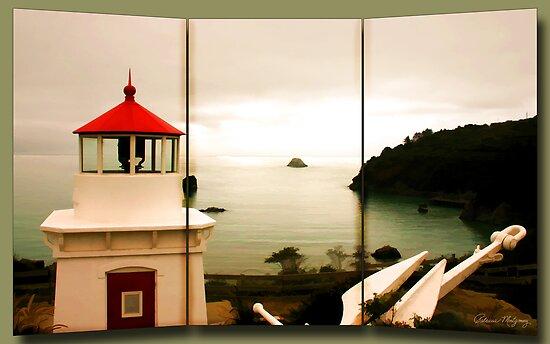 Trinidad Memorial Lighthouse  by Patricia Montgomery
