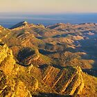 Sunrise from St Marys Peak, Flinders Ranges, South Australia by Michael Boniwell