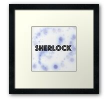 Sherlock Inverted Framed Print