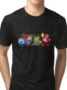 Pokesenshi Tri-blend T-Shirt