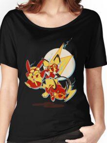 Rai Flash, Pika Flash and Impichu Women's Relaxed Fit T-Shirt
