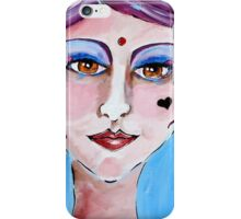 Violeta - Woman Art by Valentina Miletic iPhone Case/Skin