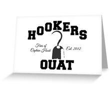 OUAT Hook Greeting Card