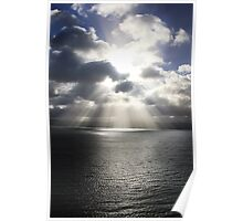 Rays at Sunrise Poster