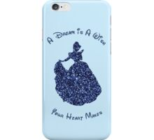 Glittery Cinderella iPhone Case/Skin
