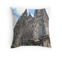 St. Vitus Cathedral, Praha, Czech Republic Throw Pillow