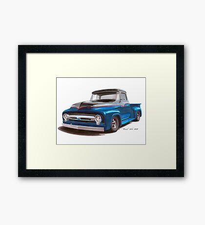 Two Tone to Know Framed Print