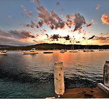 Sunset Landing - Newport - The HDR Experience by Philip Johnson