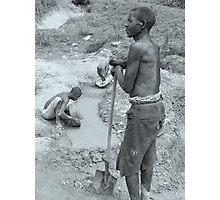 Gold Diggers, Uganda Photographic Print
