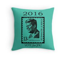 2016...VOTE for JFK!! Throw Pillow