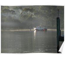 Reflections Strahan Tasmania Poster