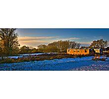 Late winter sun Photographic Print