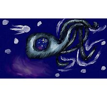 3 Legged Space Squid  Photographic Print