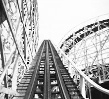 """The Cyclone"" Roller Coaster, Revere Beach - Hill by ngscollection"