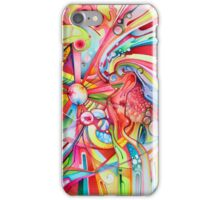 Fe & Irony - Abstract Watercolor Painting iPhone Case/Skin