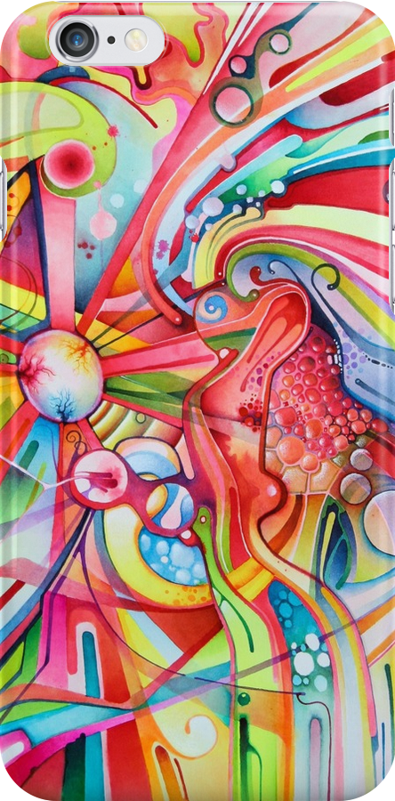 Fe & Irony - Abstract Watercolor Painting by jeffjag
