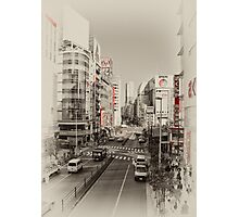 Shinjuku Streetscape Photographic Print