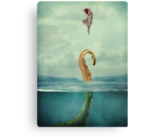 uncontained Canvas Print