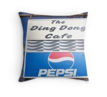 The Ding Dong Throw Pillow