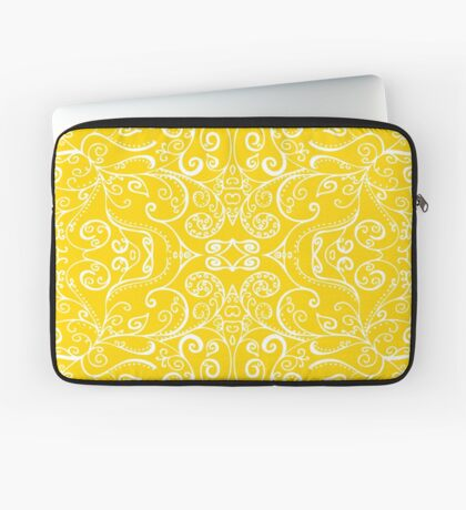 Silent Era, Yellow Laptop Sleeve