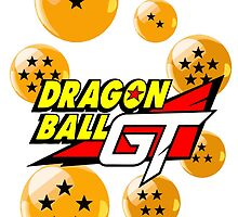 Dragonball GT logo tee by Veldranol