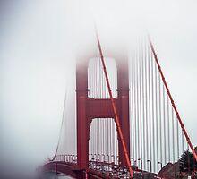 Golden Gate Fog by Roselyn Shoko