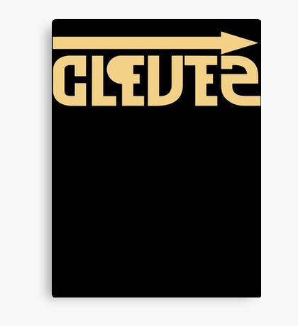 Clever = Stupid Canvas Print