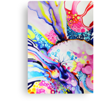 Infinite Flare - Watercolor Painting Canvas Print