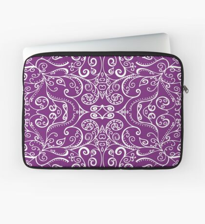 Silent Era, Violet Laptop Sleeve