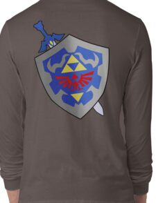 Sword and Shield Long Sleeve T-Shirt