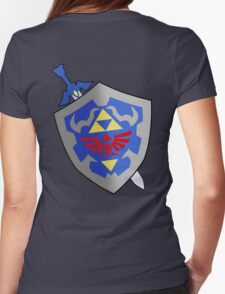 Sword and Shield Womens Fitted T-Shirt