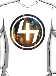 47 (4th and 7th Chakra) Nebula T-Shirt