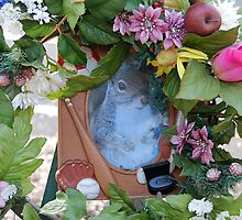 Squirrel shrine by Lenny La Rue, IPA