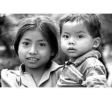 Chorti Children V Photographic Print