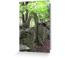 Castle Grounds 1 Greeting Card