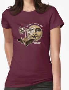 The Lily Tea Bat and the Moon Tee Shirt Womens Fitted T-Shirt