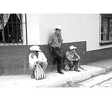 Latin Cowboys Photographic Print