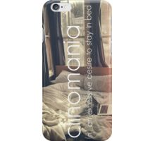 bed please iPhone Case/Skin